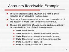 Example Of Accounts Receivable Ppt Chapter 17 Markov Chains Powerpoint Presentation