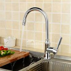 Top Kitchen Faucets Top Kitchen Faucets Silver Chrome Single Handle