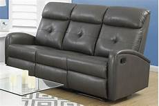 Gray Reclining Sectional Sofa 3d Image by 88gy 3 Charcoal Grey Bonded Leather Reclining Sofa 88gy 3