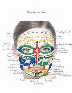 Face Reflexology Chart The Foot Whisperer Reflexology Institute February 2016