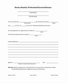 Free Printable Doctors Note For School Doctors Note Template For School 6 Free Word Pdf