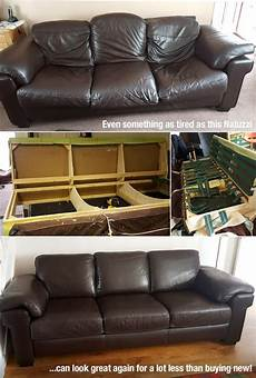 this natuzzi leather sofa was broken and saggy not
