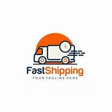 Shipping Logo Fast Shipping Logo Premium Vector