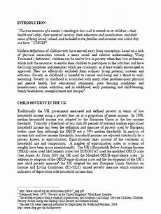 Poverty Essays Poverty Essay Introduction
