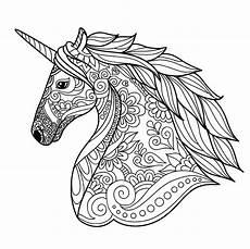 unicorn simple unicorns coloring pages