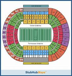 Tennessee Vols Football Seating Chart Tennessee Football Neyland Stadium Espn