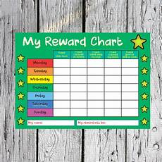 Reward Chart For Students Reusable Kids Childrens Reward Chart School Behaviour