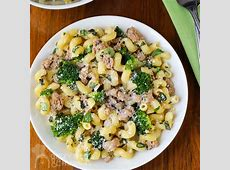 Easy Ground Turkey Pasta Broccoli Dinner   Dizzy Busy and