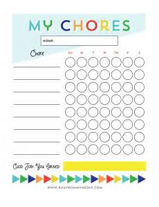 Free Printable Charts For Toddlers Free Printable Chore Chart For Kids Chore Chart Kids