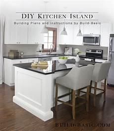 building kitchen island build a diy kitchen island build basic