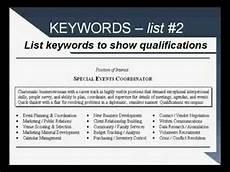 Keywords In Resume Resume Keywords Youtube