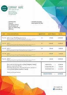 Cool Invoice Template Free Free Photoshop Invoice Templates Invoiceberry