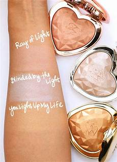 Too Faced Ray Of Light Highlighter The New Too Faced Love Light Prismatic Highlighters In Ray