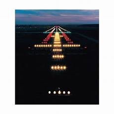 Different Airport Lights Airplane Runways And Taxiways