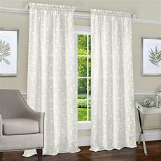 Target Light Filtering Curtains Light Filtering Semi Sheer Window Privacy Curtains 2 Pack