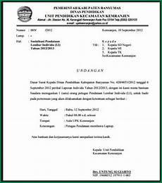 10 contoh surat undangan yang resmi dan tidak resmi file