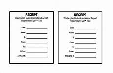 blank cab receipt template taxi receipt receipt template doc for word documents in