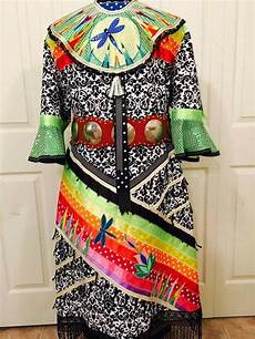 pretty beadwork jingle dress