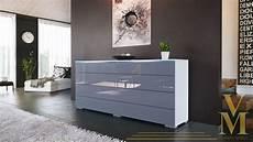 kommode schlafzimmer grau angebot sideboard kommode tv board schrank pl 246 n wei 223