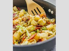 Fried Cabbage and Potatoes with Bacon   Savory Tooth