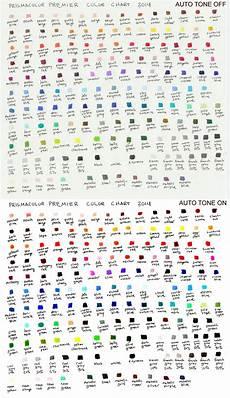 Prismacolor Premiere Colored Pencil Chart By