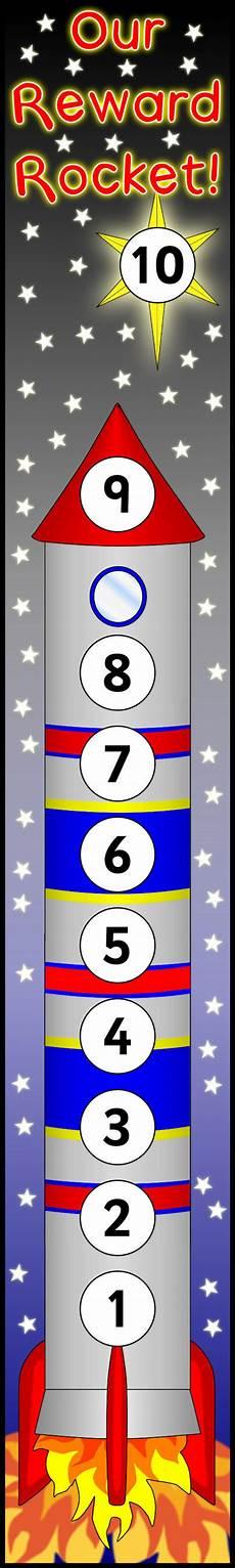 Rocket Ship Reward Chart Rocket Reward Chart Sb9851 Sparklebox