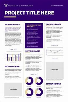 Academic Poster Template Powerpoint Research Posters Uw Brand