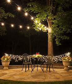 Garden String Lights Ideas How To Plan And Hang Patio Lights