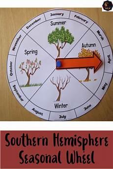 Season Wheel Chart Southern Hemisphere Seasonal Wheel Preschool Calendar
