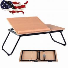 portable laptop desk notebook computer tray folding table