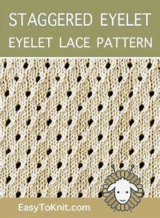 eyelet lace 26 staggered eyelet eyelet lace pattern