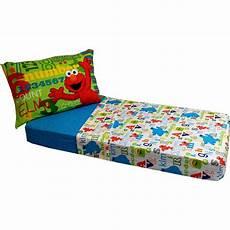 sesame elmo abc 123 4 toddler bedding set