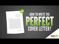 How To Write A Cover Letter For A Writing Job How To Write A Cover Letter Example Included Youtube