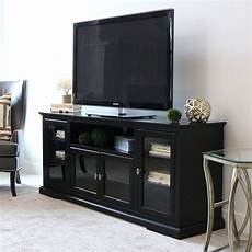 shop 70 inch black wood highboy tv stand free shipping