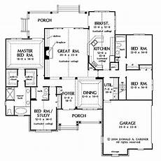 4 Bedroom Ranch House Plans Ranch Style House Plan 4 Beds 3 Baths 2689 Sq Ft Plan