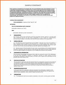 Proposal Agreement Sample 11 Example Of Contract Marital Settlements Information