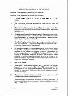 Bill Format For Works Contract Printable Sample Employment Contract Sample Form