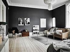 Dark Walls Light Floor Dark Walls White Ceiling Light Wooden Floor Living