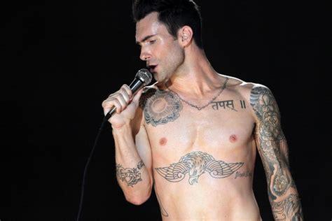 Adam Levine Dick