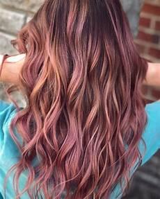 Light Brown Mauve Hair Mauve Rose Gold Pink Balayage Ombre Hair Josh