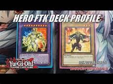 yu gi oh ftk deck profile new master rule 2020