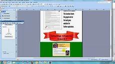 Template For Publisher How To Create An Infographic With Ms Publisher Youtube