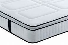 square quilted pocket series 3000 memory foam pillow top