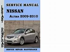 Online Repair Manual For A 2012 Nissan Altima 2012