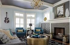 Contemporary Blue 20 Blue Living Room Designs Decorating Ideas Design