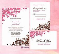 Download And Print Wedding Invitations Free Wedding Invitation Free Wedding Invitation Templates
