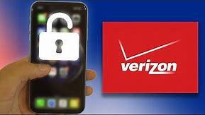 Unlock Verizon iPhone XR/XS/XS MAX/X/8/7/6S/6 Permanently for T-Mobile, Sprint, AT&T & ANY Carrier