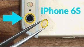 iphone 6S broken back camera lense fix