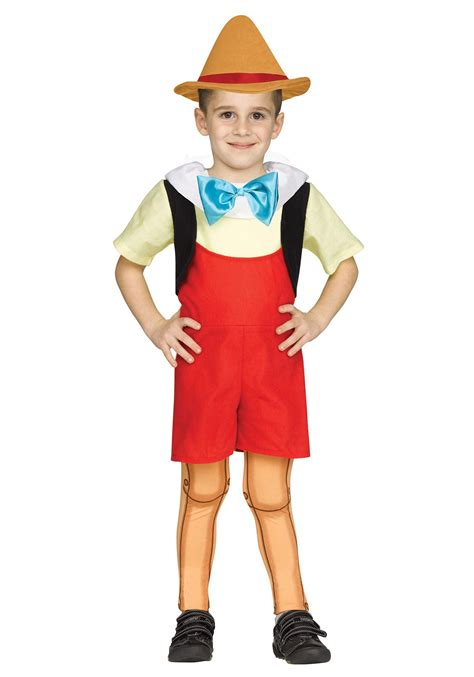 toddler wooden boy costume