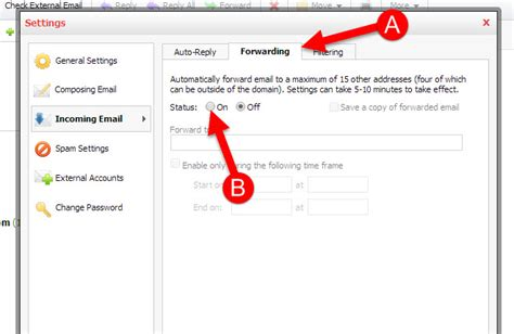 email forwarding how to set up and features